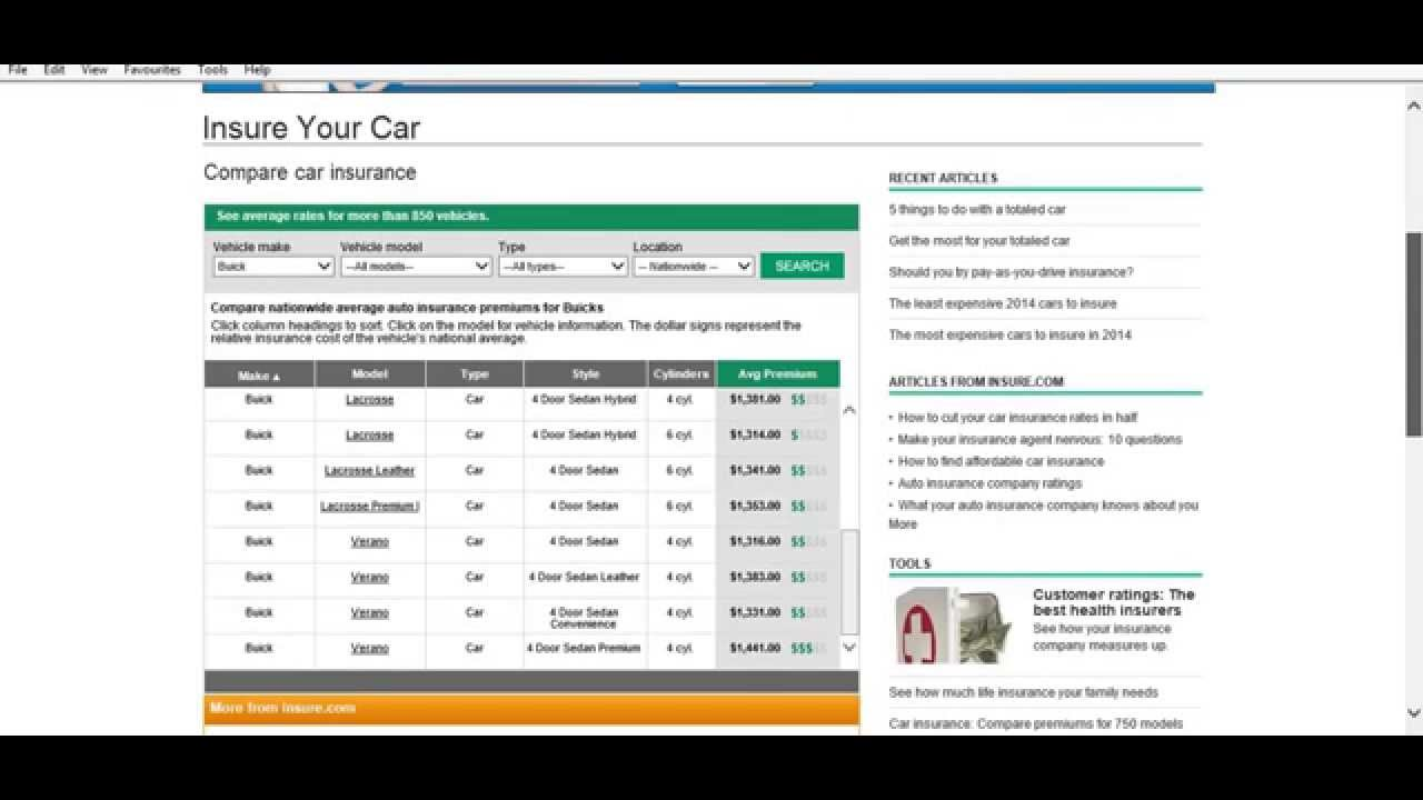Build your own car insurance premium calculator and buy ...