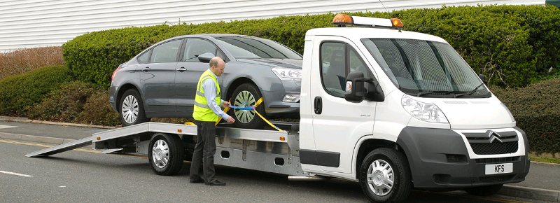 Car Recovery Breakdown Vehicle Transport Collection ...