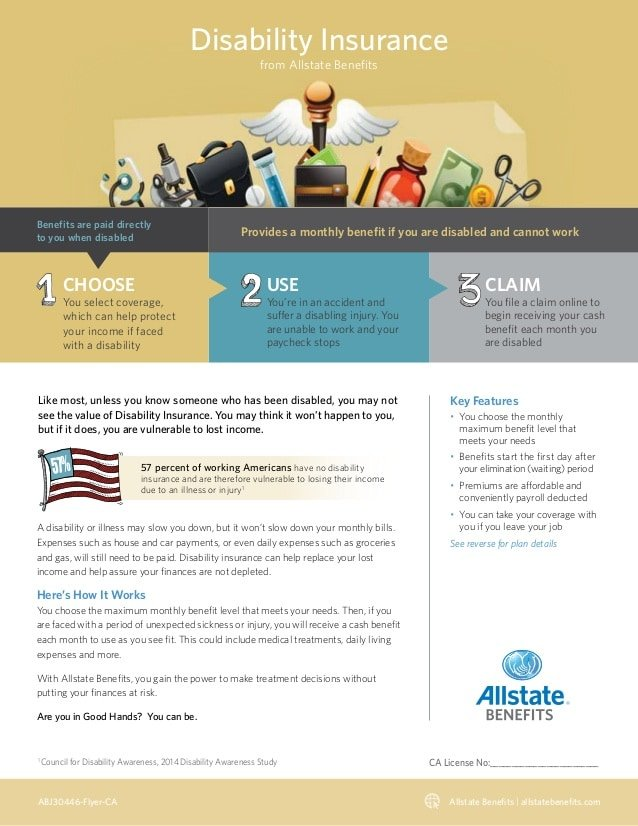 Disability Insurance from Allstate Benefits