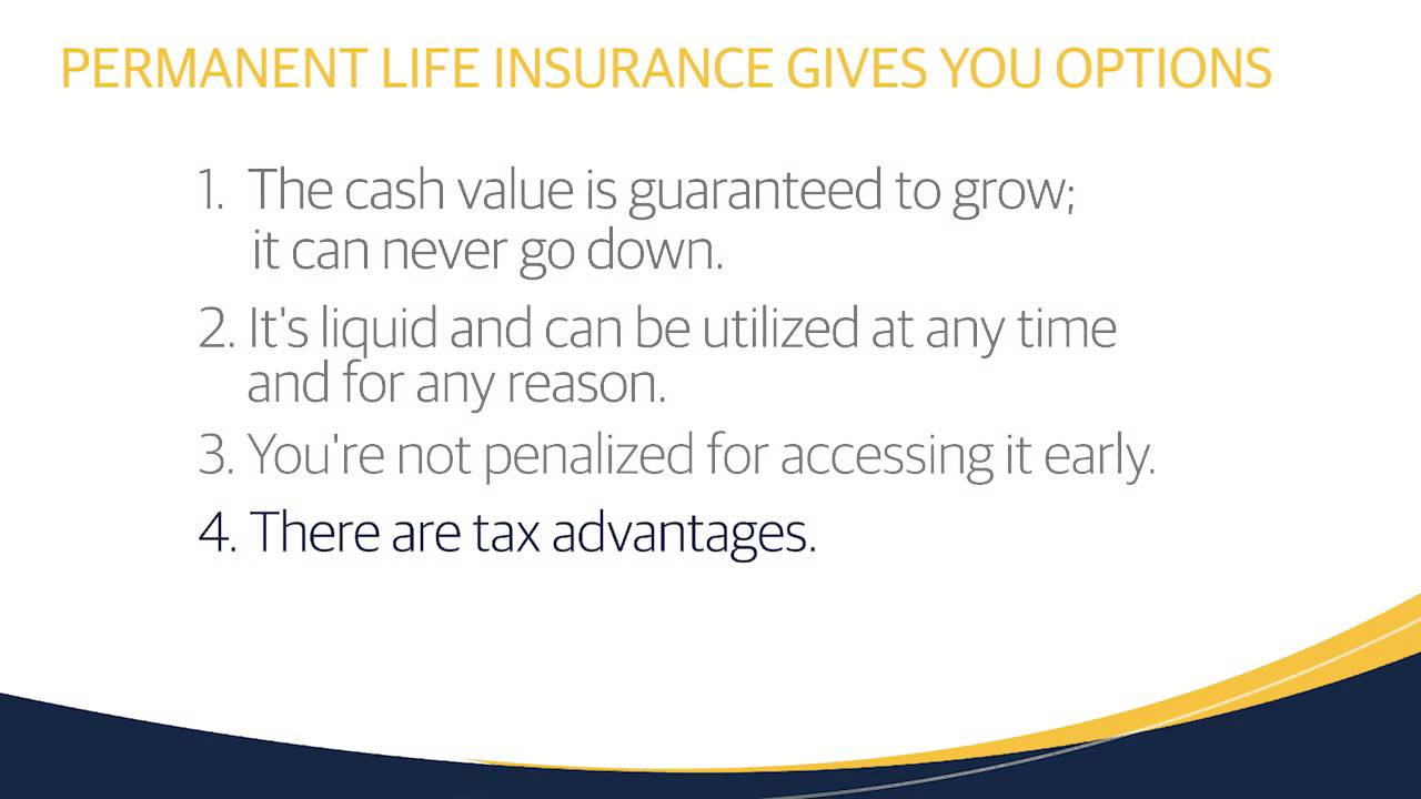 How Does Permanent Life Insurance Give Me Financial ...