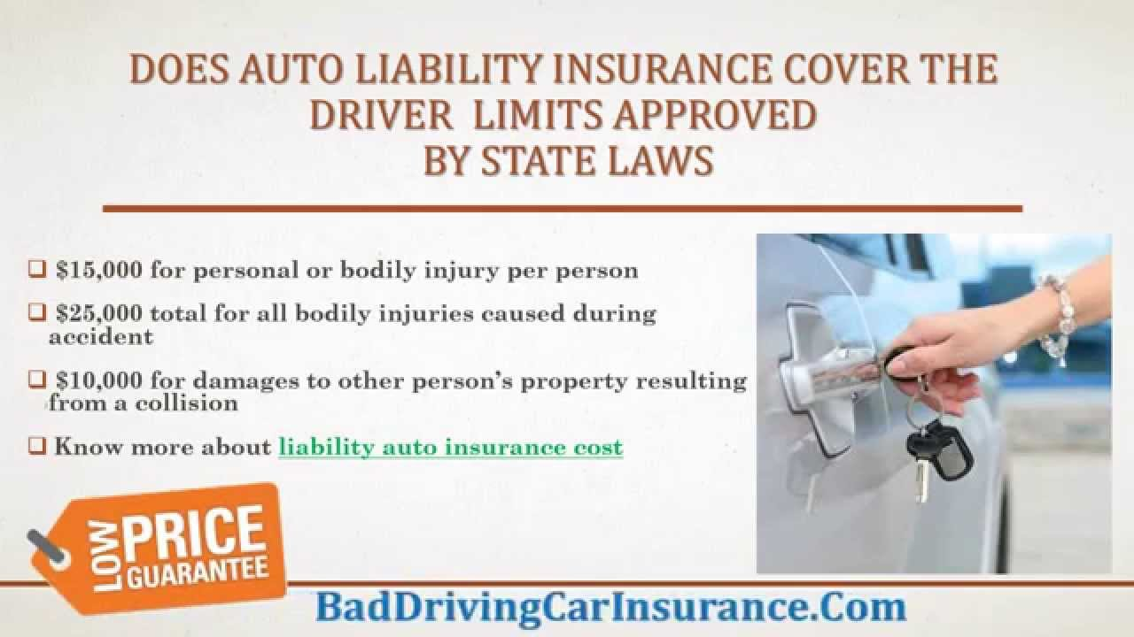 What Does Liability Car Insurance Typically Cover To ...