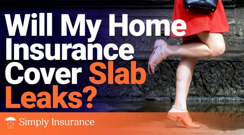 Will My Home Insurance Cover Slab Leaks in 2020?